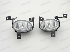 1Pair Front Bumper Fog Light Driving Lamps w/Brackets For Honda CRV 2010-2011