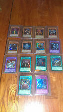 14 Assorted New Mint YuGiOh Gold HOLOs Never Played