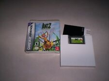 Game Boy advance Antz complete in box