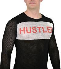 Fight Club HUSTLER SHIRT Tyler Durden Mesh Rare Costume Jersey Good Quality