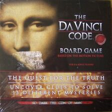 NEW 2006 THE DA VINCI CODE OFFICIAL MOVIE NOVEL ADULT BOARD GAME PUZZLE MYSTERY