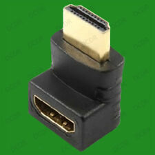 270 Degree, Right Angled HDMI Male to Female Cable Coupler Adaptor, HDTV LCD LED