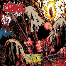Ghoul - We Came For The Dead LP - Tri color - Limited edition Death Metal Grind