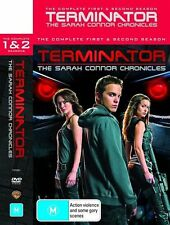 Terminator - The Sarah Connor Chronicles : Season 1-2 (DVD, 2009, 9-Disc Set)