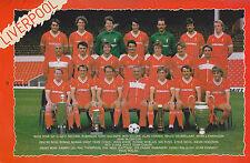 Liverpool FOOTBALL EQUIPACION Foto > 1984-85 temporada