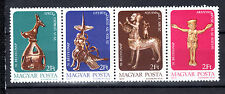 HUNGARY MAGYAR 1977 50th Stamp Day-Art in strip of 4 values MNH - FREE SHIPPING