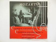 Mozart  / Ingrid Haebler Piano / Hans Hollreiser Conductor / Concerto 15&18  Bb