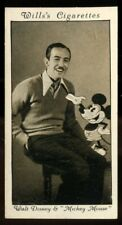 Tobacco Card,Wills,WALT DISNEY,MICKEY MOUSE,American Film Legend Symphonies,1931