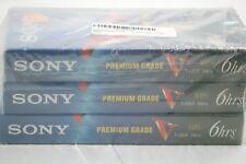 NEW Sony Premium Grade T-120VF VHS Video Tape - 3 pack