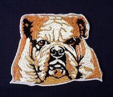 BRITISH ENGLISH FRENCH BULLDOG CRUFFS DOG SHOW BREED BADGE IRON SEW ON PATCH