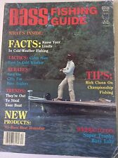 Bass Fishing Guide Magazine Rick Clunn On Championships 1984-85 051117nonrh