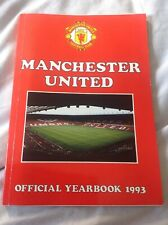 Manchester United Football Club Official Yearbook 1993 . Manu . Collectable