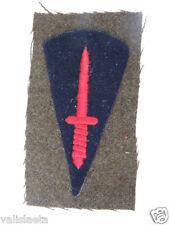ROYAUME-UNI 2ème GM INSIGNE DE BRAS COMMANDOS UK BADGE WW2