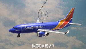 New Livery Southwest Airlines 737 Airplane Jet Custom Christmas Ornament Adorno