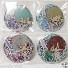 UTA NO PRINCE-SAMA DECO KIRA BADGE QUARTET NIGHT SET - REIJI RANMARU AI CAMUS