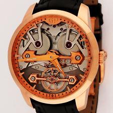 Girard Perregaux 18K Rose Gold Classic Bridges 86005-52-001-BB6A 40mm Watch LNIB