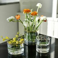 Fake Flower Vase Tabletop Plants Vase Decorative Home Nordic Glass Vases Home