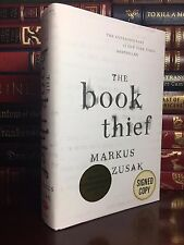 The Book Thief ✎SIGNED✎ by MARKUS ZUSAK New Hardback Special Anniversary Edition