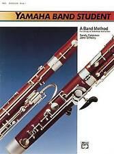 Yamaha Band Student, Book 1: Bassoon (Yamaha Band Method) by Sandy Feldstein