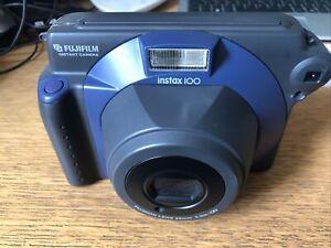 Fujifilm Instax 100 Instant Film Camera And Bag