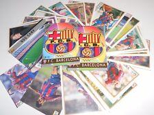 FULL SET 35 CARDS TEAM FC BARCELONA MUNDICROMO 1997 1998 97 98 RIVALDO RONALDO
