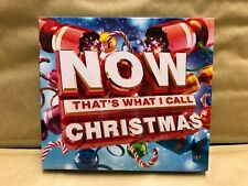 Now That's What I Call Christmas (CD, 2015, 3 Discs, Sony Music) NEW Sealed WD1