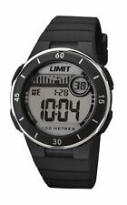 Limit 100m Ladies Black Plastic Case and Bezel Digital Watch Model 5556
