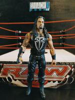 WWE wrestling figure TOUGH TALKERS ROMAN REIGNS mattel RARE THE SHIELD WWF