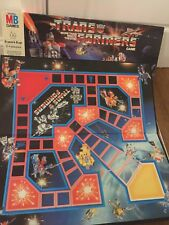 The Transformers Warrior Board Game 1985 Mb 100% Complete Vintage Retro