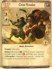 Legend of the Five Rings LCG - 1x #082 Crisis Breaker - Fate Has No Secrets