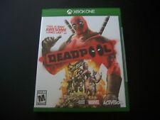 Replacement Case (NO  GAME) DEADPOOL XBOX ONE 1 XB1 ORIGINAL