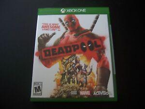Replacement Case (NO  GAME) DEADPOOL XBOX ONE 1 XB1 ORIGINAL