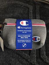 Champion Gray Sling Prime Fanny Pack Attribute Logo Sport Pocket Casual Fashion
