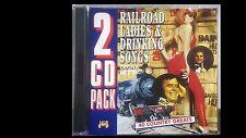 Railroad, Ladies & Drinking Songs 2 cd Pack 40 Country Greats J&B - JB519CD