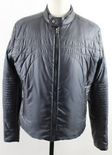 NEW Hugo Boss Tappa Full Zip Puffer Insulated Jacket MENS 42R LARGE Black