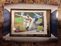 Justin Masterson 2014 Topps Silk Collection