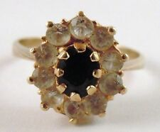 Unbranded Cluster Natural Sapphire Fine Rings