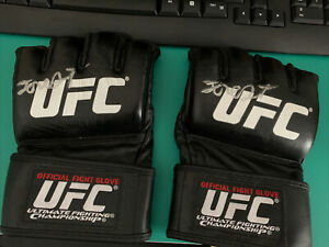 Signed UFC MMA Official Gloves