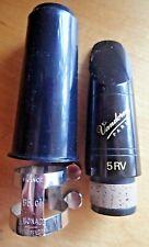 VANDOREN 5RV CLARINET MOUTHPIECE W/free BONADE LIGATURE + CAP SPECIAL VALUE