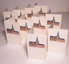 Joseph Robers Postkartenset  10 Postkarten Prägedruck Bocholter Rathaus 775