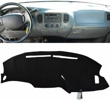 For Ford F150 F 150 1997 2003 Dash Cover Dashmat Dashboard Mat Carpet Black Fits 1997 Ford F 150