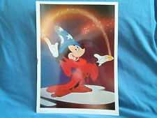 Sorcerer Mickey Mouse Poster Harmony Books 1977