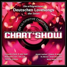 Die ultimative Chart-Show - Die erfolgreichsten deutschen Lovesongs 2CD- NEU OVP