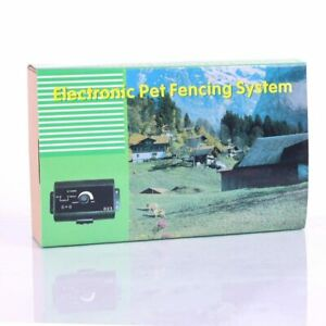 Dogs Waterproof Underground Shock Collar Electric Dog Fence Fencing System