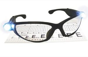 SAS Safety 5420-20 Lightcrafters LED Inspectors Readers Safety Glasses