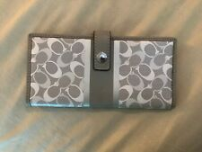 New Coach Signature Chelsea Bi-Fold Snap Wallet Clutch