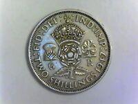 ROYAUME-UNI 1 Florin 1947 (2 Shillings) Georges VI - SUP