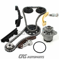 Timing Chain Kit + Water Pump Set For 98-02 VW 2.8L Jetta Golf VR6 V6 AFP Engine