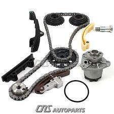Timing Chain Kit + Water Pump Set For 98-02 VW 2.8L Jetta Golf VR6 V6 AFP Engine