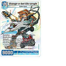 Kaijudo 1X CHANGE-O-BOT GLU-URRGLE Super Rare S3/S10 13GAU Quest Gauntlet 2014